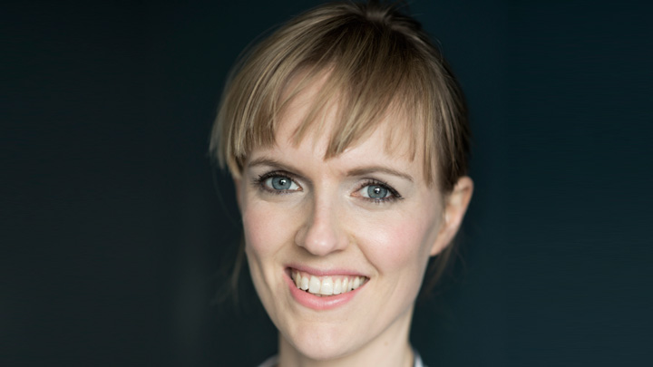 Comedian Holly Walsh who will host the AOP Awards in February 2017