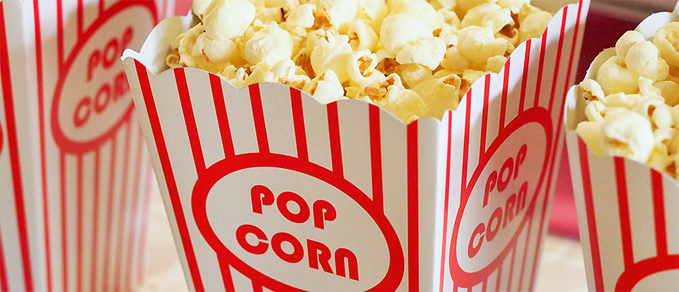 Popcorn - illustrating 3D films and childrens' vision
