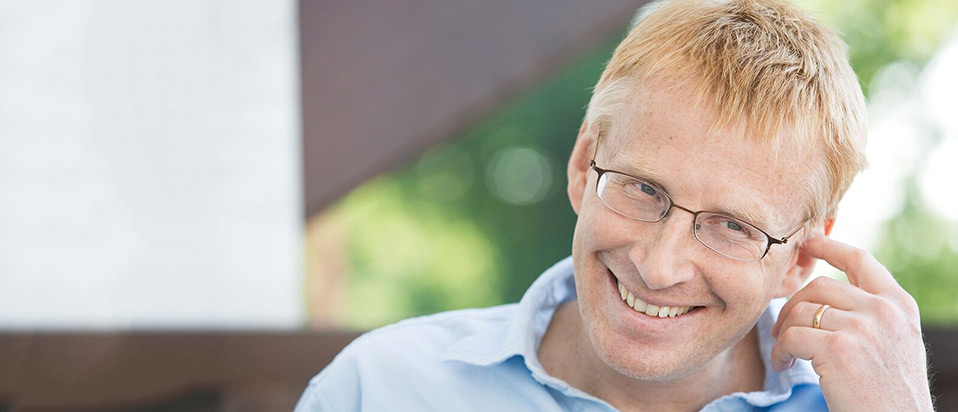 Phil Hammond comedian and author - host of the AOP Awards 2018