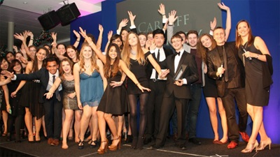 AFTA Award Winners Cardiff University
