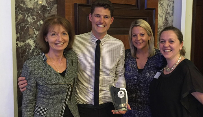 OT wins prestigious MemCom 2016 award