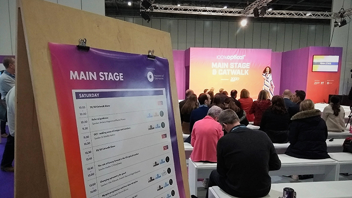 100 Optical 2019 Main stage