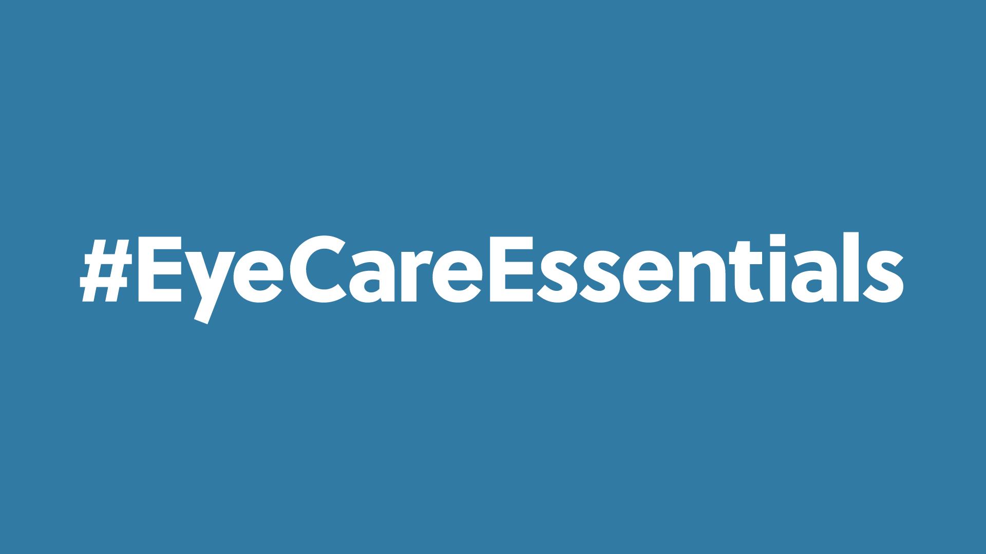 Eye Care Essentals campaign header