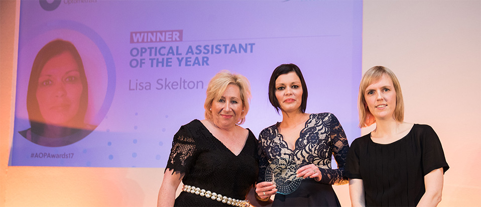 AOP Awards 2017 Optical assistant of the year