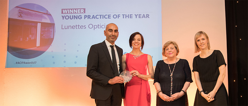 AOP Awards 2017 Young practice of the year