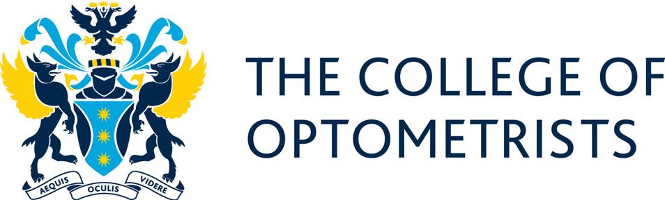 The College of Optometrists logo