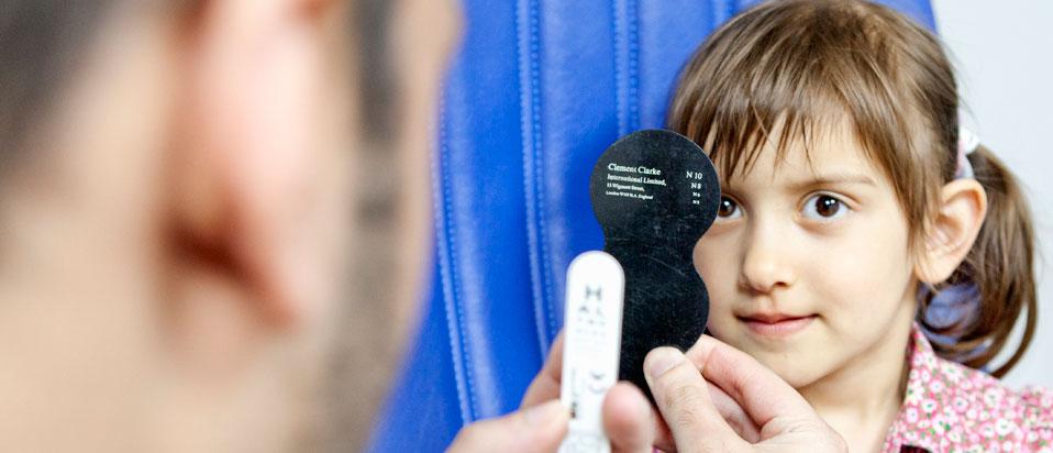 AOP promotes children's eye care