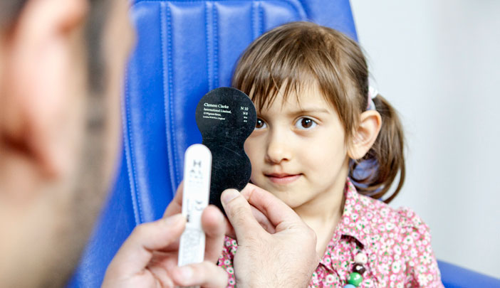 AOP promotes children's eye health