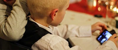AOP advice for parents about screen time for kids