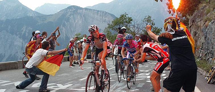Tour de France blog header