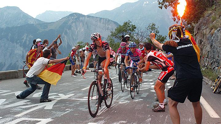 Tour de France blog listing