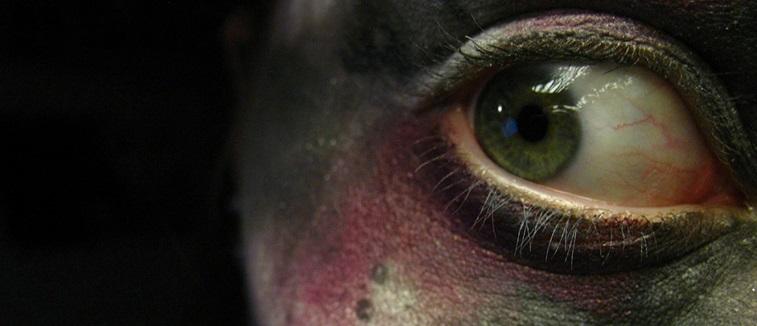 Halloween eyes banner