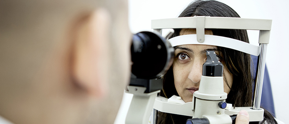 AOP explain what happens in a sight test
