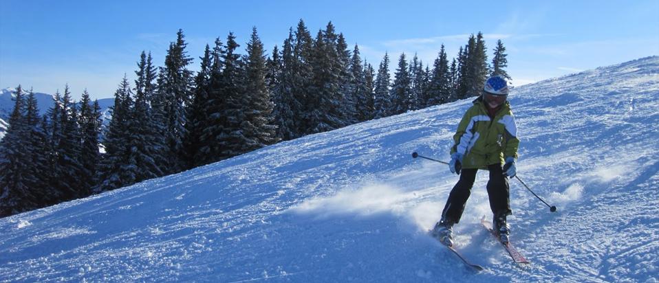 Skiing eye protection advice