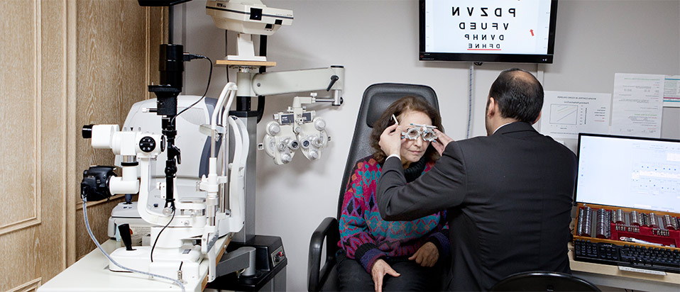 NHS eye sight test eligibility and vouchers