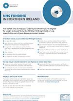NHS funding Northern Ireland leaflet