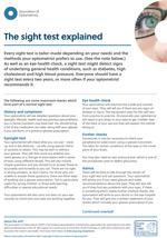 The sight test explained image