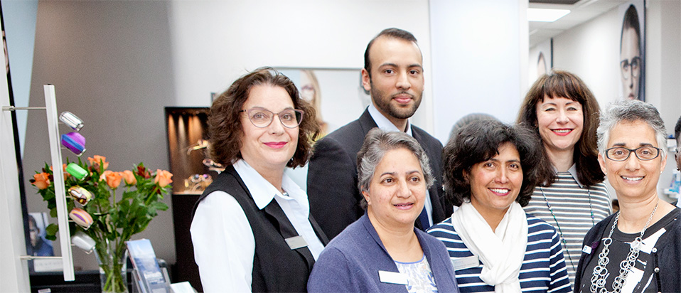 Group of optometrists