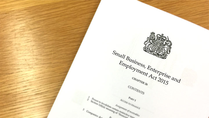 Small business enterprise and employment act