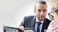 Optometrist and AOP member Asif Tufail