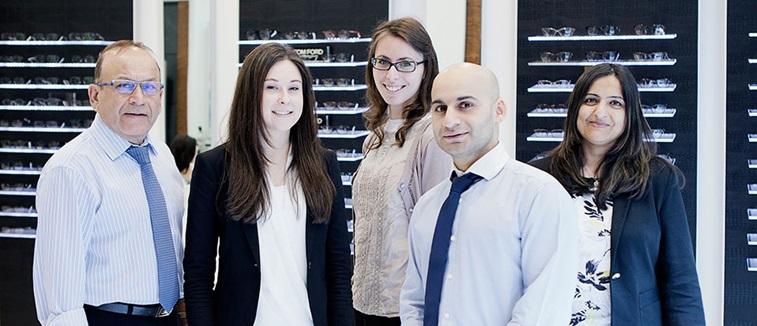 Optometrist and opticians