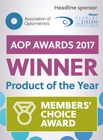 Alcon Product of the Year banner