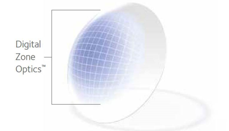 CooperVision contact lens illustration