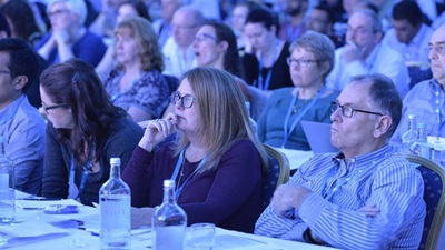 Delegates in a lecture at the National Optical Conference 2015