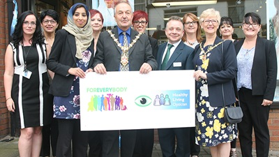 The Dudley Healthy Living Scheme launch