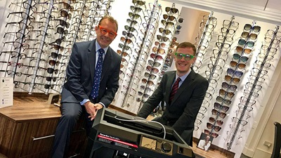 Urquhart Opticians is using 3D technology