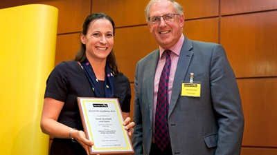 Macular Society's 'Optometrist of the Year'