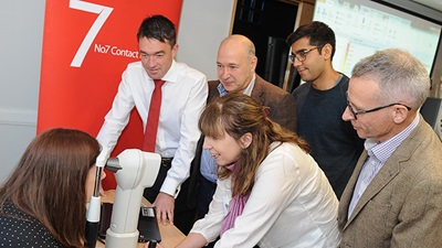 Training days being held on specialist contact lens fitting