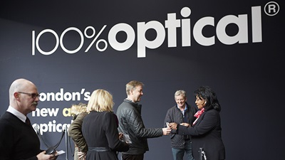 100 Optical sign