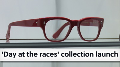 Cutler and Gross launches 'Day at the races' optical frame