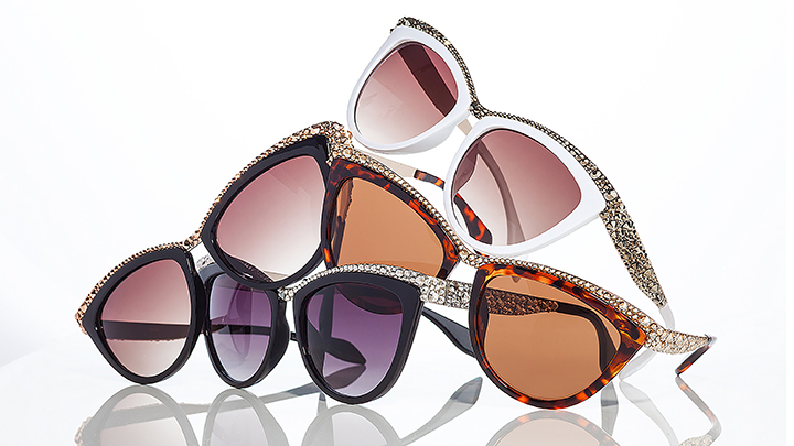 Jimmy Crystal London Sunglasses