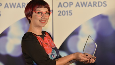 AOP Awards Optical Assistant of the Year 2015, Laura Taylor