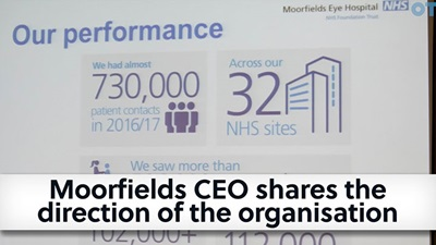 Moorfields CEO interview video