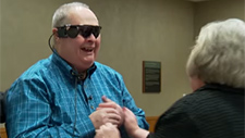 Man able to see his wife after a decade following bionic eye implant