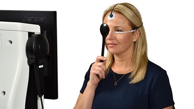 Diopsy's electroretinography (ERG) and visual evoked potential (VEP) testing equipment