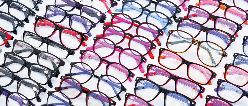 Spectacles frames display