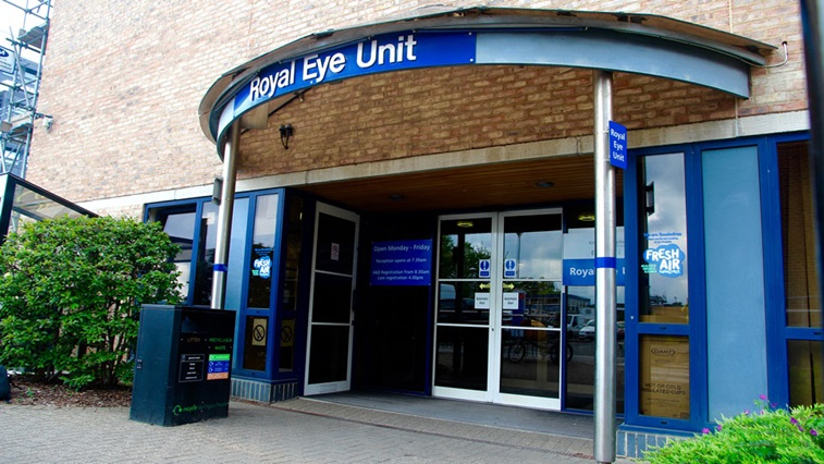 Kingston Royal Eye Unit exterior