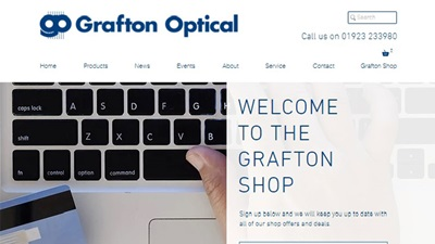 Grafton Optical shop