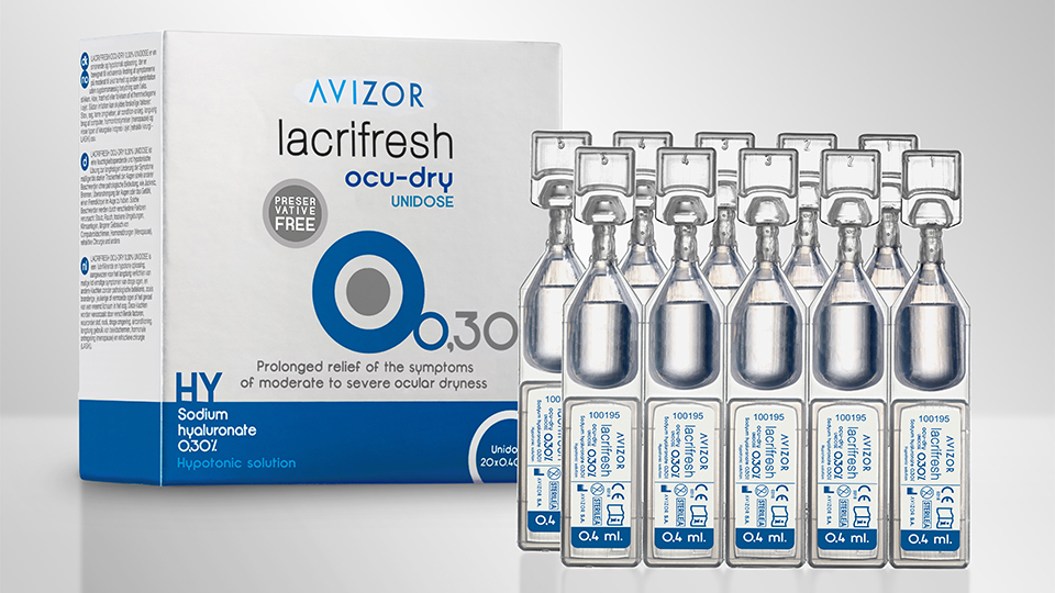Avizor Lacrifresh dry eye product