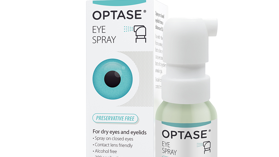Optase dry eye products