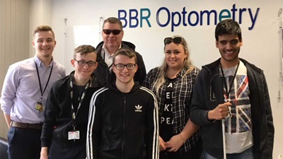 BBR Optometry supports visually impaired cricketers