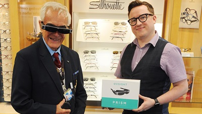 Ferrier & MacKinnon will provide services for OxSight 'Prism' glasses to patients with low vision conditions