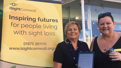 Specsavers hosts first iSight Cornwall low vision clinic