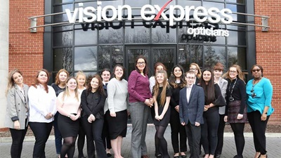Vision Express apprentices
