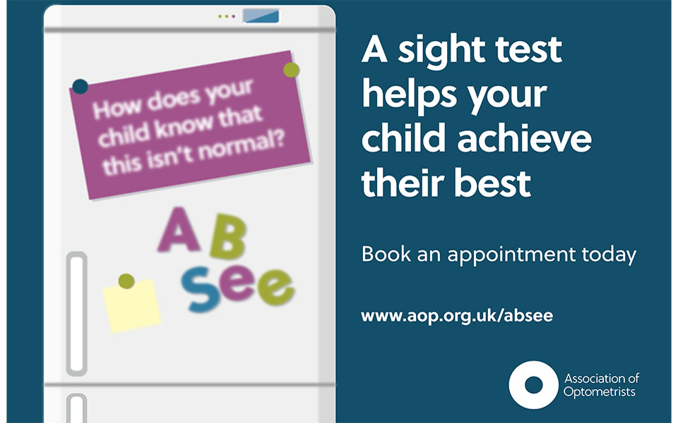 AOP children's eye health poster