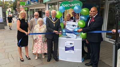 Dudley Specsavers MECS launch event